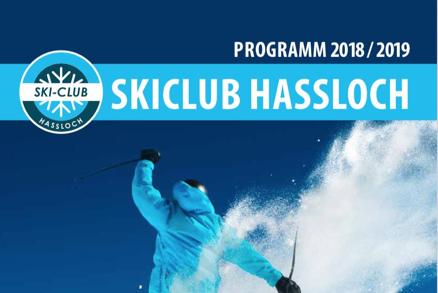 Clubheft Winter 2018/2019