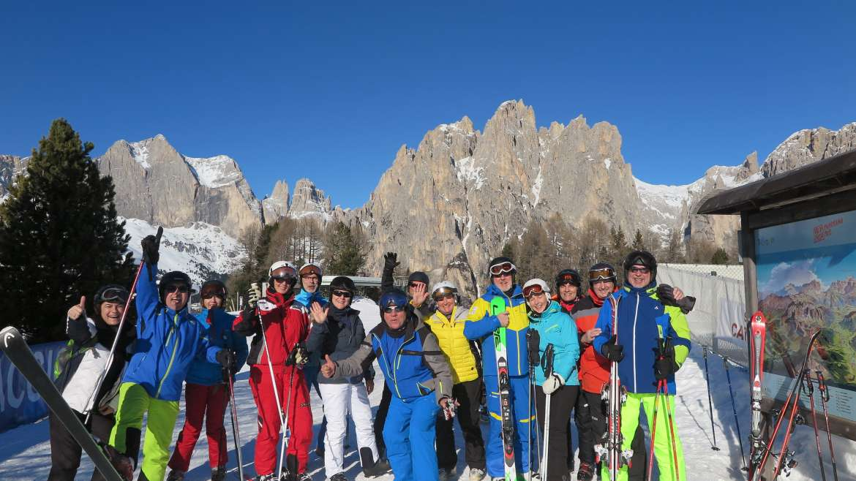 Ein Tag aus der Weiße Woche in den Dolomiten – Canacei Jan. 2020